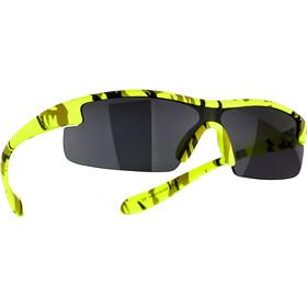 BBB Kids BSG-54 Brillenglas Kinderen, camouflage/matte neon yellow